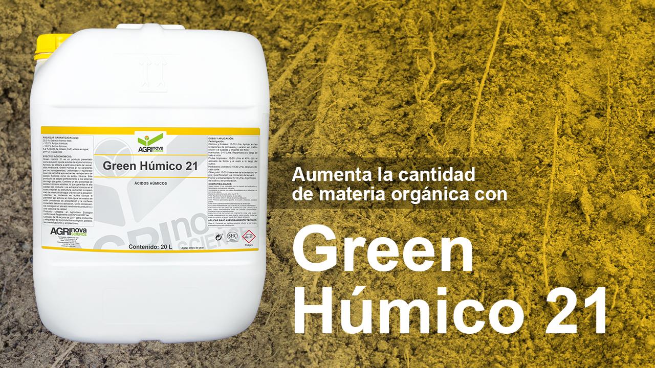 Producto Green húmico 21